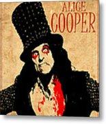Alice Cooper 1 Metal Print