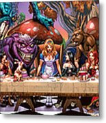 Alice In Wonderland 06a Metal Print by Zenescope Entertainment