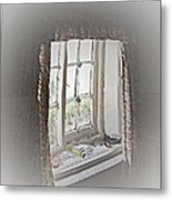 Alice's Window Metal Print