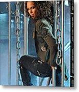 Alicia Keys Metal Print