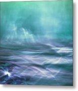 Alien Arctic Waters Metal Print
