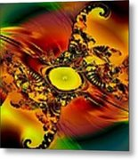 Alien Sight Metal Print