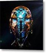 Alien Wise Man Metal Print