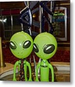Aliens And Whatamacallit Metal Print