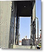 All Aboard From The Series View Of An Old Railroad Metal Print