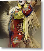 Pow Wow All About Time Metal Print