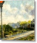 All Clear On The Pere Marquette Railway  Metal Print