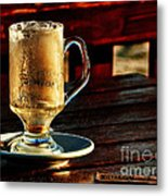 All Coffeed Out  Metal Print