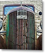 All Cracked Up Metal Print