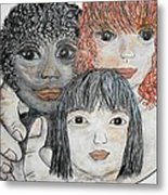 All God's Children Metal Print