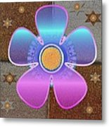 All In With Colors Metal Print