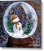 All Is Calm Metal Print