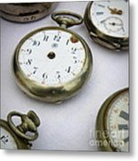 All Out Of Time Metal Print