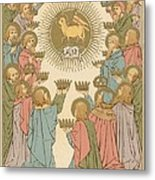 All Saints Metal Print