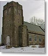 All Souls Chapel Poland Maine Metal Print