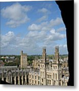 All Souls College And Beyond Metal Print