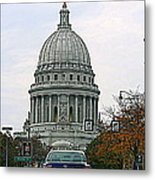 All Streets Lead To The Capital Metal Print