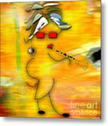 All That Jazz Or Blues Metal Print