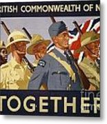 All The Commonwealth Countries Unite. Metal Print
