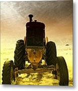 All The Feilds She Plowed Metal Print