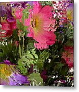 All The Flower Petals In This World 3 Metal Print