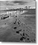 All The Roads Lead To The Pleasure Pier Metal Print
