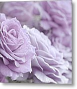 All The Soft Violet Roses Metal Print