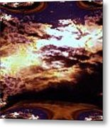 All The Wild Clouds Metal Print