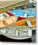 All Tied Up Metal Print