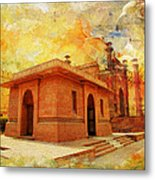 Allama Iqbal Tomb Metal Print