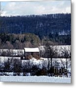 Allegany Winter Metal Print
