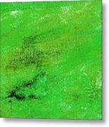 Allegory Emerald Green Metal Print