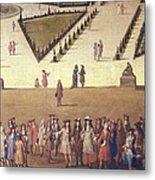 Allegrain, Etienne 1644-1736. Promenade Metal Print