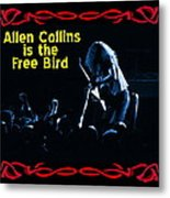 A C  Is The Blue Free Bird Metal Print