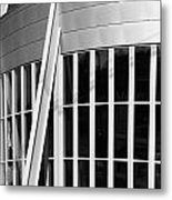 Allen County Museum Black And White Metal Print