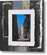 Alley 3rd Ward And Abstract Metal Print