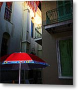 Alley Art Metal Print