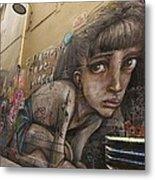 Alley Graffiti #2 Metal Print by Stuart Litoff