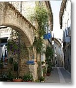 Alley In The Procence Metal Print