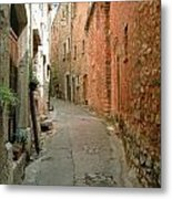 Alley In Tourrette-sur-loup Metal Print