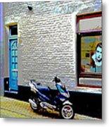 Alley In Venlo Metal Print