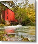 Alley Spring Mill - Eminence Missouri Metal Print