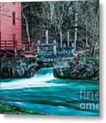 Alley Springs Mill Metal Print