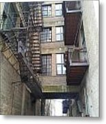 Alley Valley 8 Metal Print