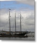 Alliance Schooner Metal Print by Teresa Mucha