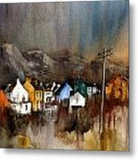 Allihies Dusk  Beara Cork Metal Print