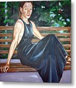 Allison Two Metal Print
