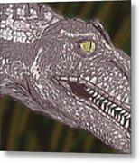 Allosaurus Metal Print