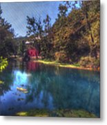 Ally Springs Mill  The Fall Metal Print