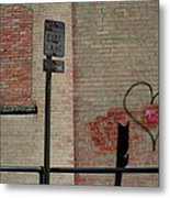Allyway Theater Metal Print